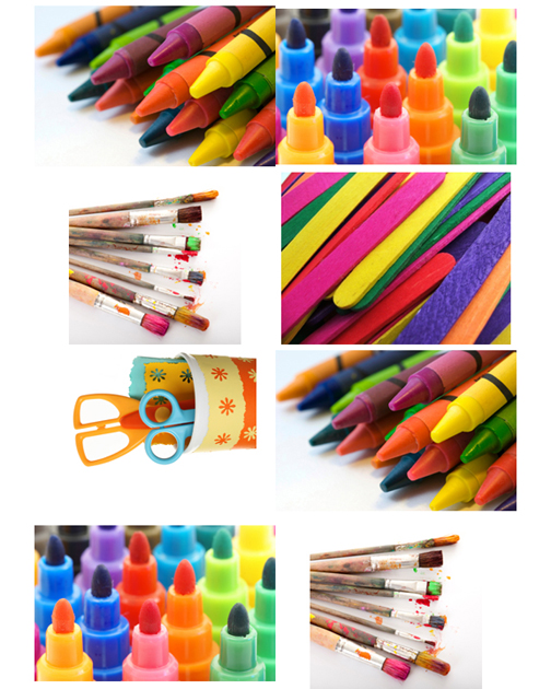Hot Idea Labels For Art Supplies Cohabitot Living Stylishly With