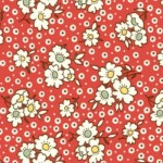 daisy fabric belsize square